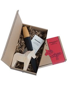 Dala Horse Wood Carving Kit