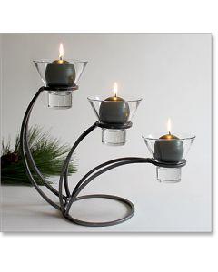 Danish Iron Sydney Candleholder