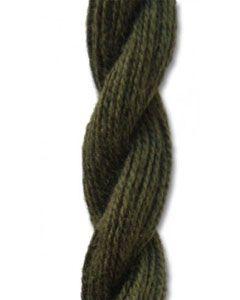 Danish Flower Thread - Dark Olive 206