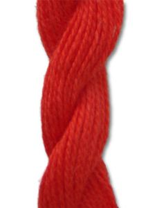 Danish Flower Thread - Bright Orange 504