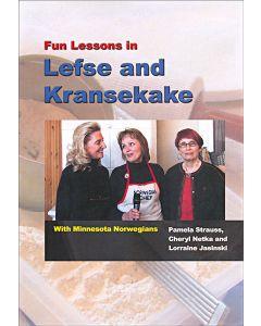 Fun Lessons in Lefse and Kransekake DVD