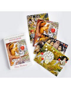 Elsa Beskow Forest Notecards