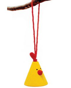 Elton the Yellow Chicken Ornament