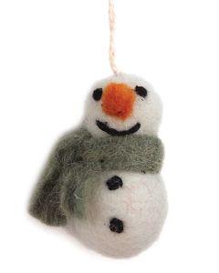 En Gry & Sif Snowman Ornament