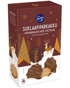 Chocolate Covered Pepparkakor Cookies