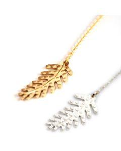 Dottir Ferna Lariat Necklace