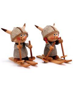 Fierce Viking Skiers