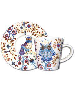 Taika Espresso Cup or Saucer