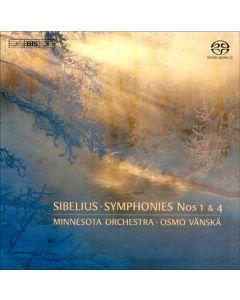 Sibelius Symphonies Nos. 1 & 4