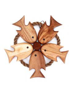 Circle of Fish Trivet
