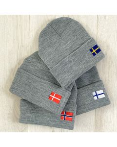 Knit Flag Cap