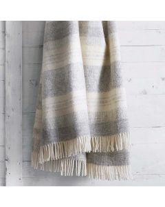Freja Natural Wool Throw
