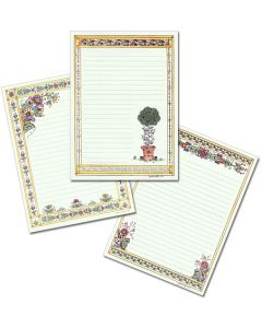 Swedish Folk Art Stationery
