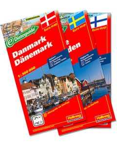Hallwag Road Maps of Scandinavia