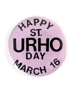 Happy St.Urho Day Button