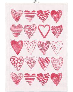 Hearts Towel