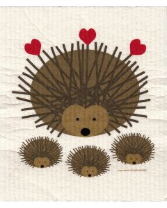 Hedgehogs Cellulose Dishcloth