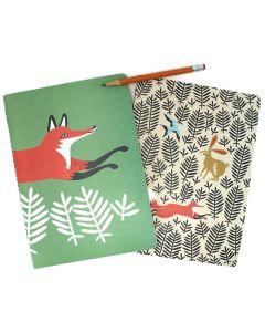 Hill & Dale Fox Notebook Set