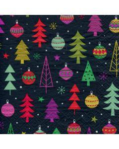 Holiday Trees Napkins