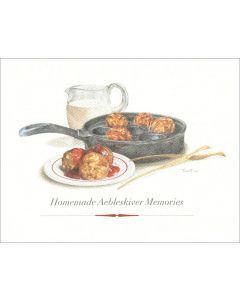 Homemade Aebleskiver Memories Card