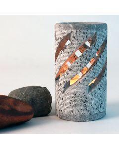 Hukka Stone Candle Holder