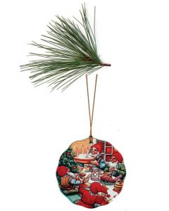 Hurra for Julgrøt Ornament