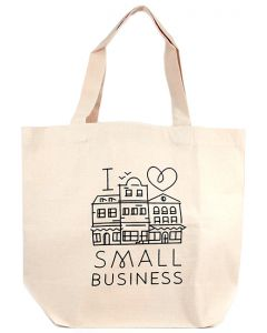 I Heart Small Business Tote