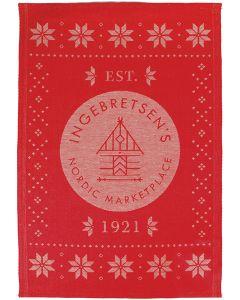 Ingebretsen's 100th Anniversary Ekelund Towel