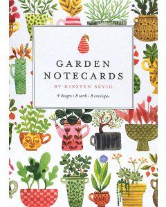 Garden Notecards by Kirsten Sevig