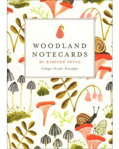 Woodland Notecards from Kirsten Sevig