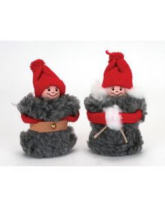 Lambswool Tomte Pair