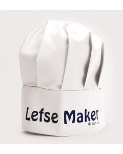 Lefse Maker Chef Hat