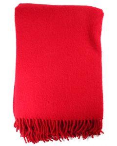 Lillunn Mono Blanket Dark Red