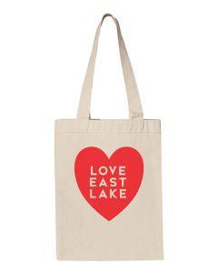 Love East Lake Tote Bag