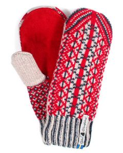 Lycksele Suede Palm Mittens