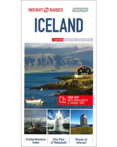 Insight Guides Travel Map of Iceland
