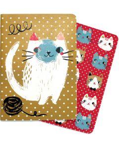 Meow Meow Notebooks Set