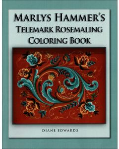 Marlys Hammer's Telemark Rosemaling Coloring Book