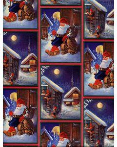 Midnight Nisse Gift Wrap