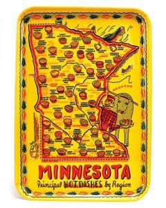 Minnesota Principle Hot Dishes by Region Tray