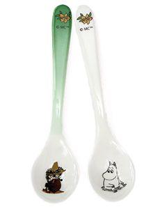 Moomintroll & Snufkin Spoons
