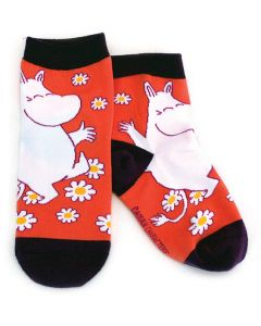 Moomin Kid Socks Flowers