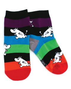 Moomin Kid Socks Rainbow