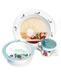 Moomins at the Beach Dish Set