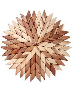 Mosaic Wood Trivet