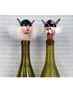 Ms. & Mr. Viking Bottle Stoppers