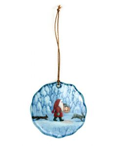 Nighttime Tomte Ornament