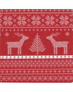 Nordic Deer Napkins