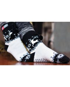 Nordic Knit Slipper Socks