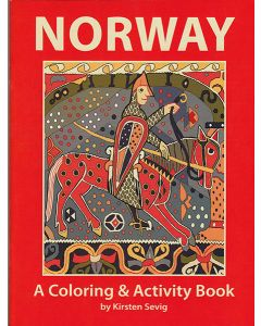 Norway Coloring Book